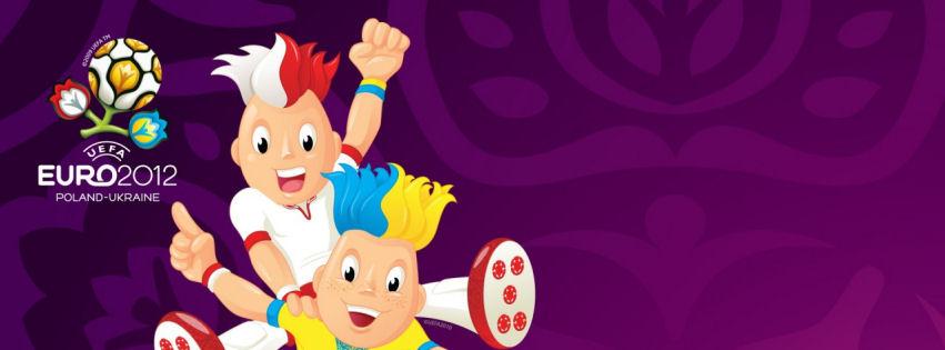 Euro football cup 2012 facebook cover