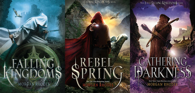 Falling Kingdoms series book covers