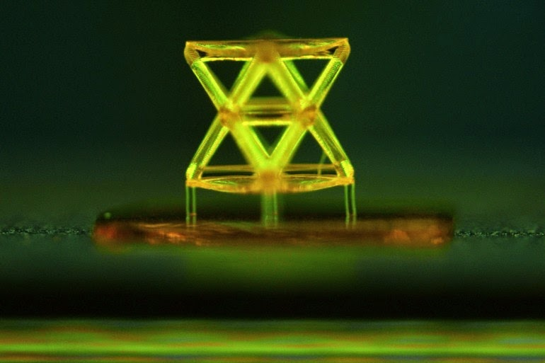 New materials developed that are as light as aerogel