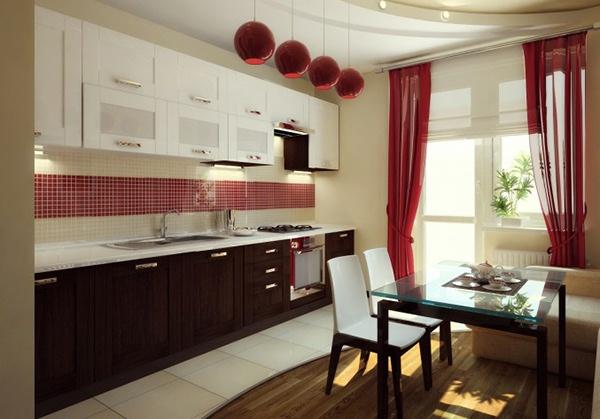 Model Tirai Indah untuk Dapur
