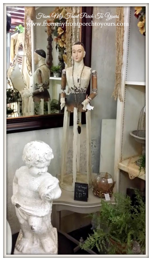 Santos Cage Doll-Antique Mall- From My Front Porch To Yours