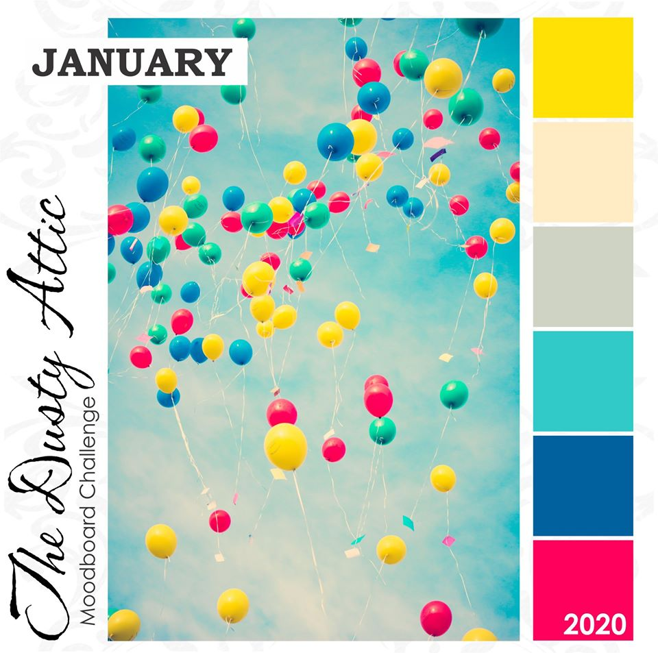 Winner - January 2020 Mood Board Challenge