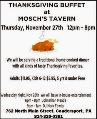 11-27 Mosch's Tavern, Coudersport