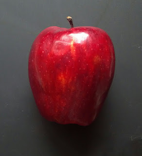 red apple with no bites