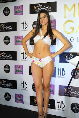 Foto Seksi Lucia Aldana Miss Kolombia 2012
