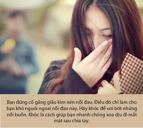 hình con gái buồn khi chia tay