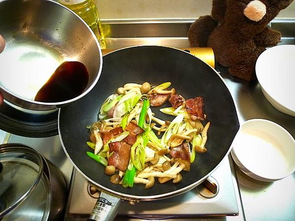 万願寺と卵のオイスターソース炒めの作り方(3)
