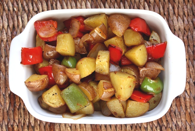 London Broil With Crispy Potatoes And Peppers Recipe ...
