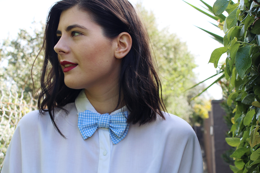 that dapper chap, bowties guys in bow ties, girls in bowties, girls in bow ties, melbourne fashion blogs, australian fashion bloggers, australian fashion blog, melbourne fashion bloggers, like a harte, likeaharte, ivana, ivana petrovic, melbourne made, handmade bow ties, australian sourced apparel, melbourne made apparel, serrano, whittaker