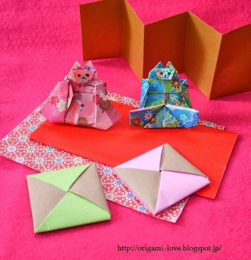 すべての折り紙 ひな人形 折り紙 : ★ひな人形の座布団の折り方 ...