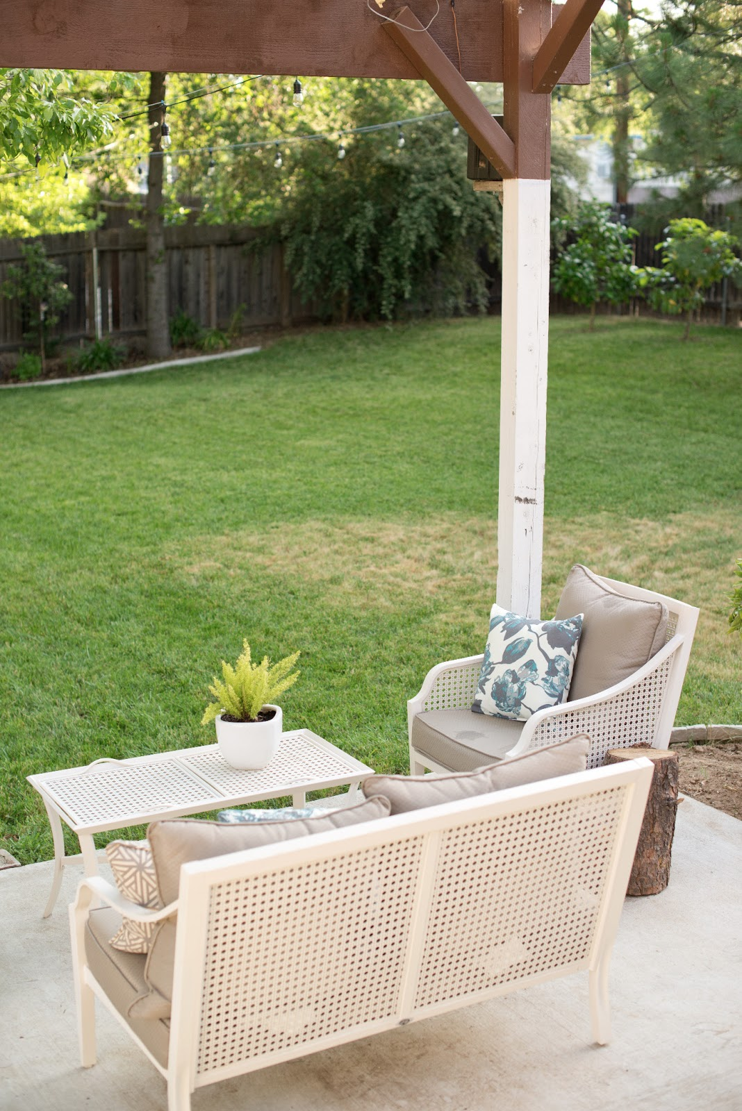 Triyae = Cinder Block Furniture Backyard Various design inspiration for