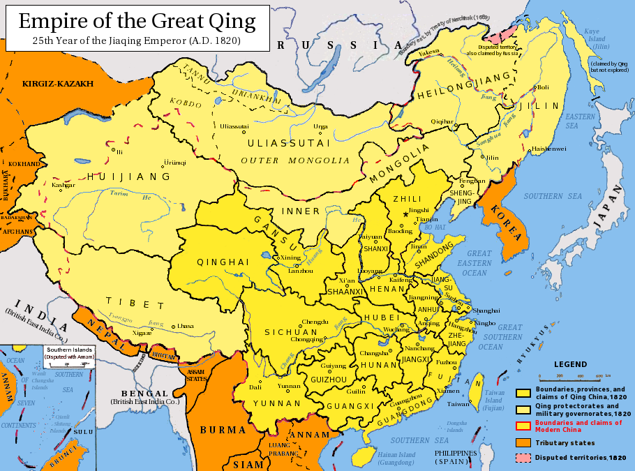 "qing china and the consequences of the golden age essay Collapse of qing dynasty the qing dynasty (1916-1912) is the last imperial dynasty of china, it was consider as the most powerful country during the ""golden age"" ruled by kang xi and qian long, and it has over 400 million population and has the 1st ranked gdp in the world at the moment."