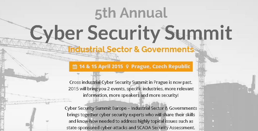 مؤتمر Cyber Security Summit: Industrial Sector & Governments