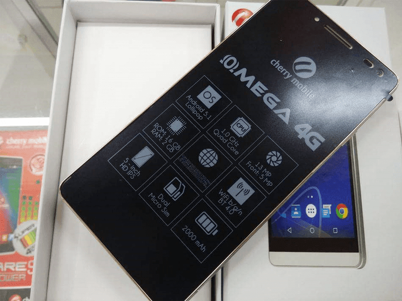 CHERRY MOBILE OMEGA 4G LEAKS, 5.7 INCH 64 BIT LTE PRICED AT JUST 5,999 PESOS!