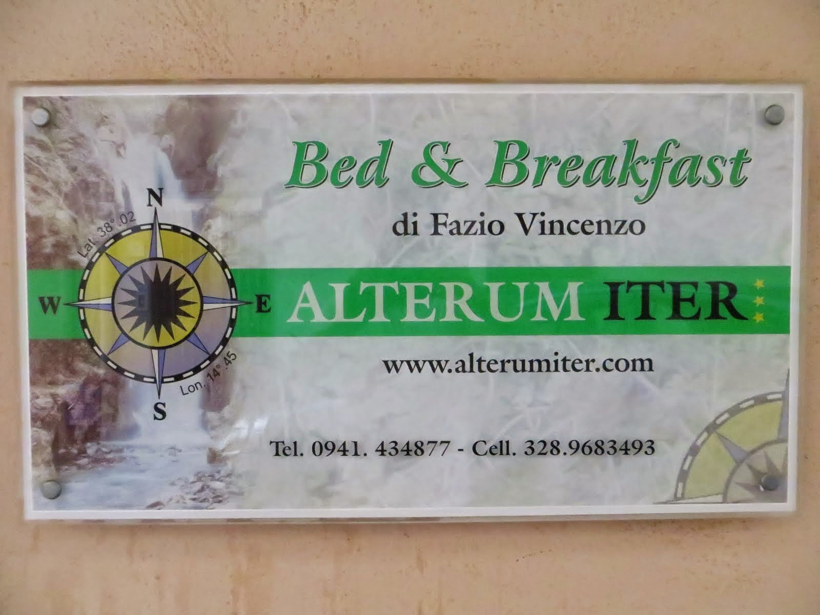 Alterum Iter Bed and Breakfast