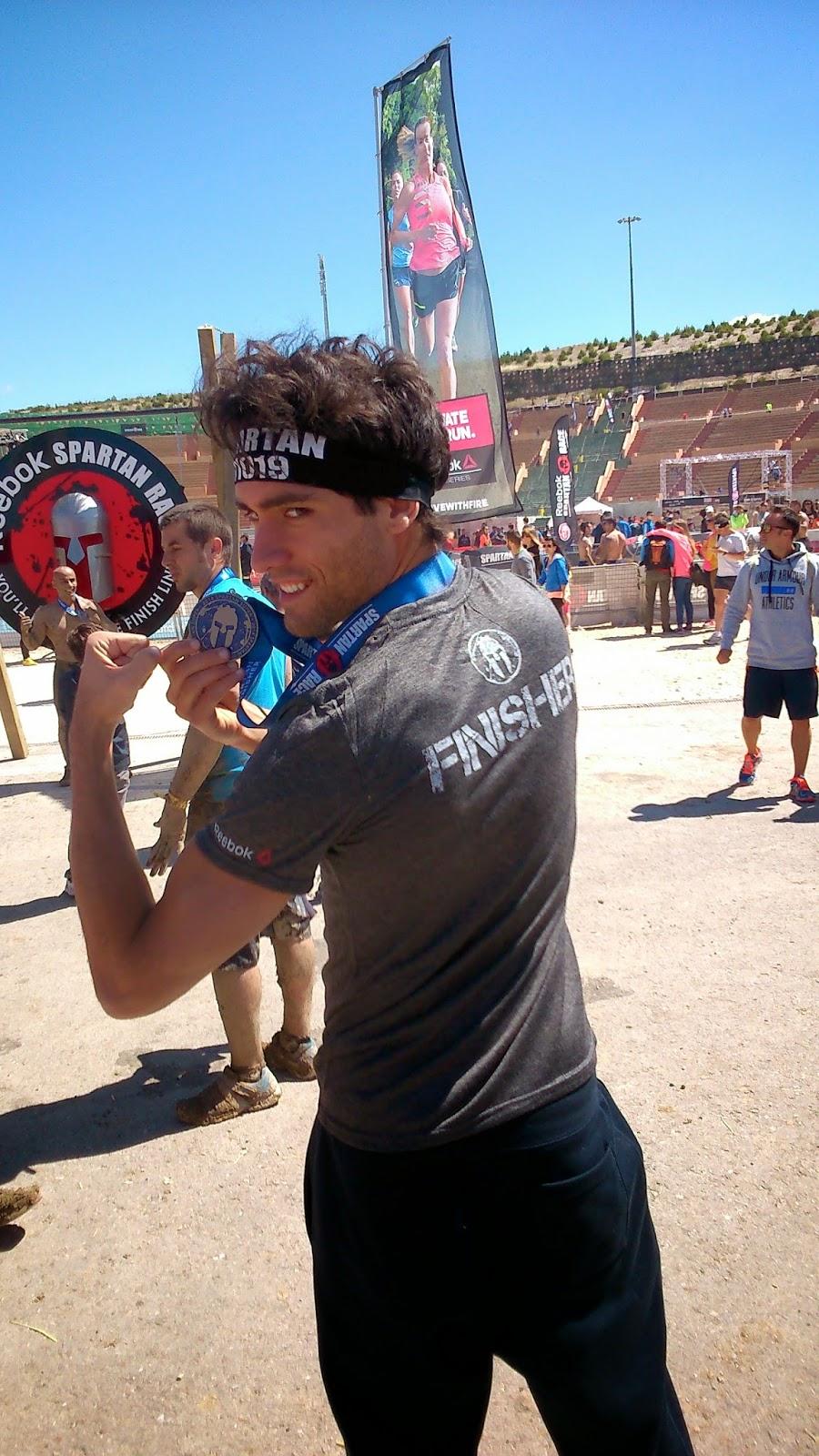spartan race madrid españa fotos medalla