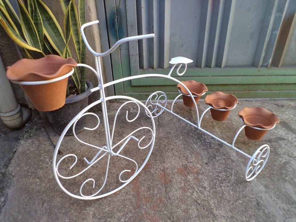 enfeite jardim bicicleta:Fika a Dika – Por um Mundo Melhor: Adornos em Ferro Para Decoração e