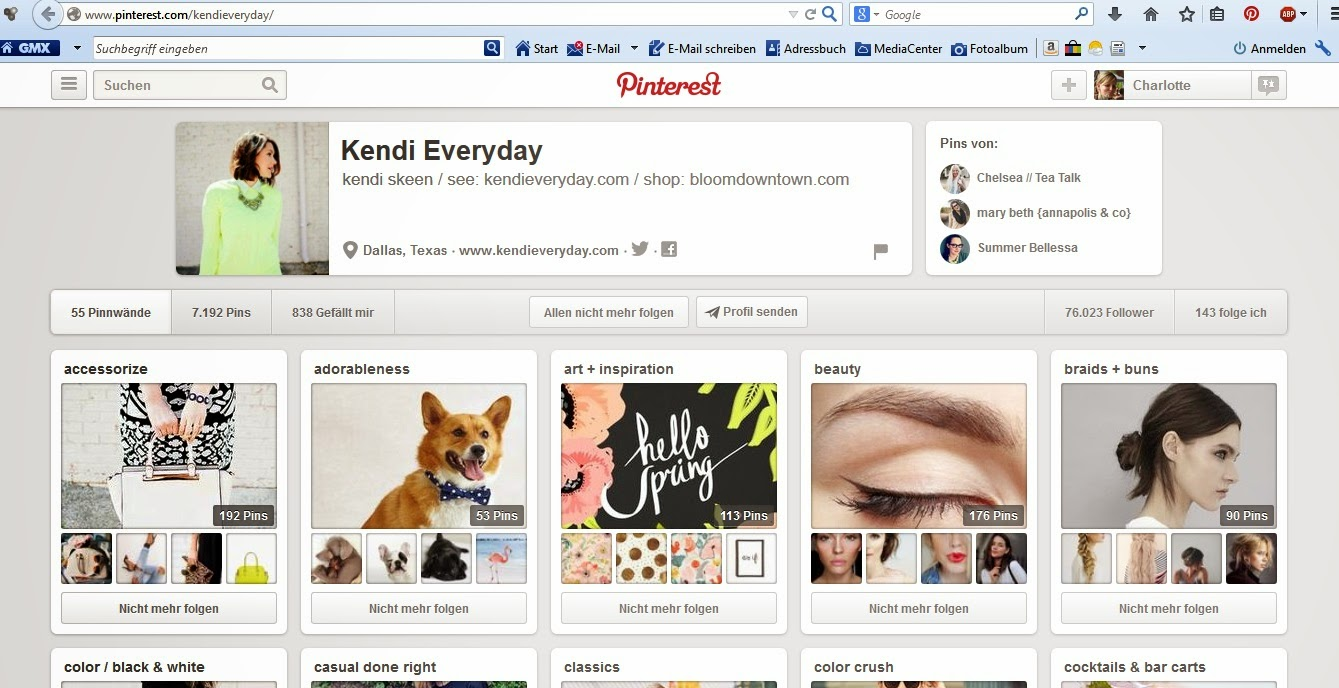 http://www.pinterest.com/kendieveryday/