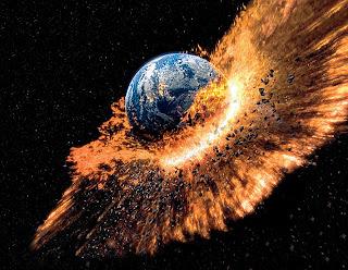 explosion terre