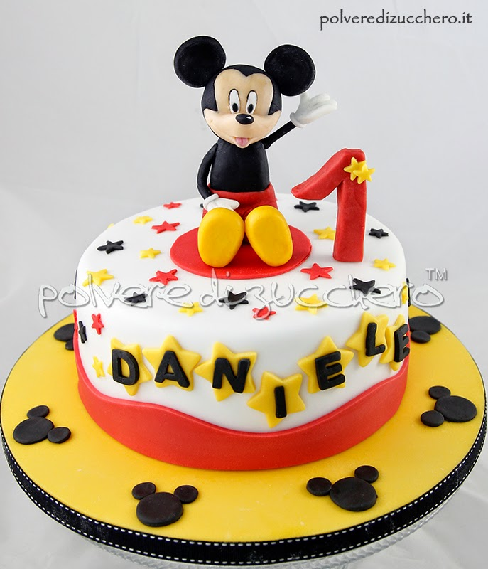 Mickey Mouse Cake And Cupcakes Philippines