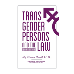 cover of Transgender Persons and the Law