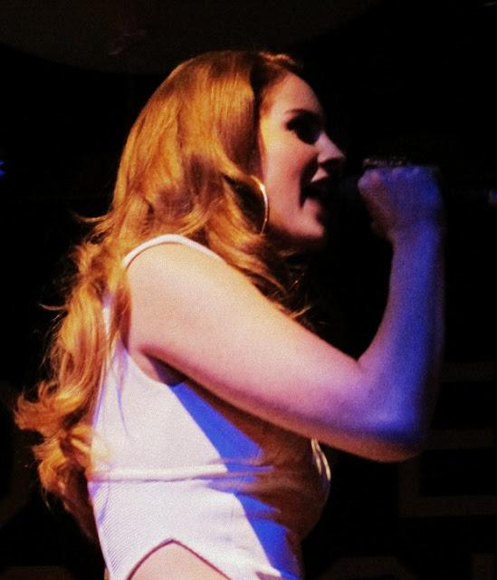 Lana Del Reyen concert à Paris