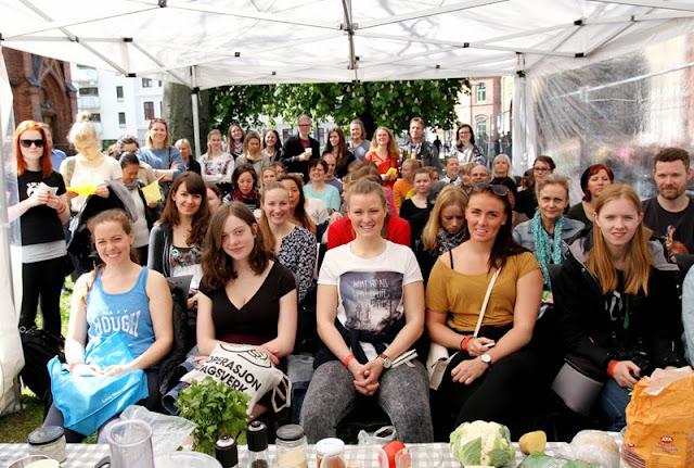 Oslo Vegetarfestival 2015 Veganmisjonen Veganmannen Kokkekurs Veganplan
