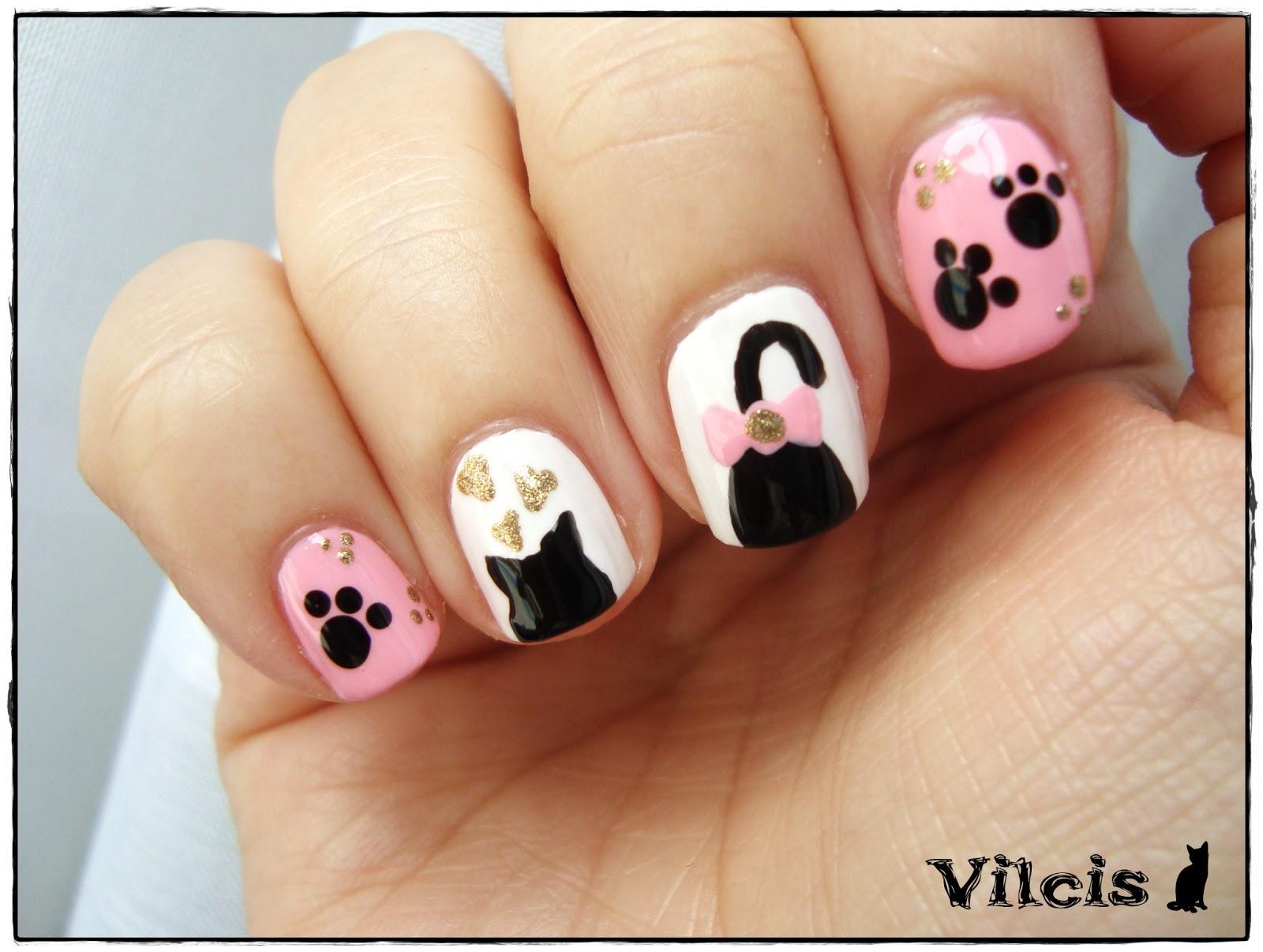 Vilcis nail designs: Desafío 31 días - Día 30 - Diseño uñas ...