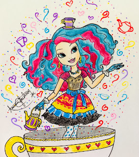 Ever After High, Dibujos, parte 4