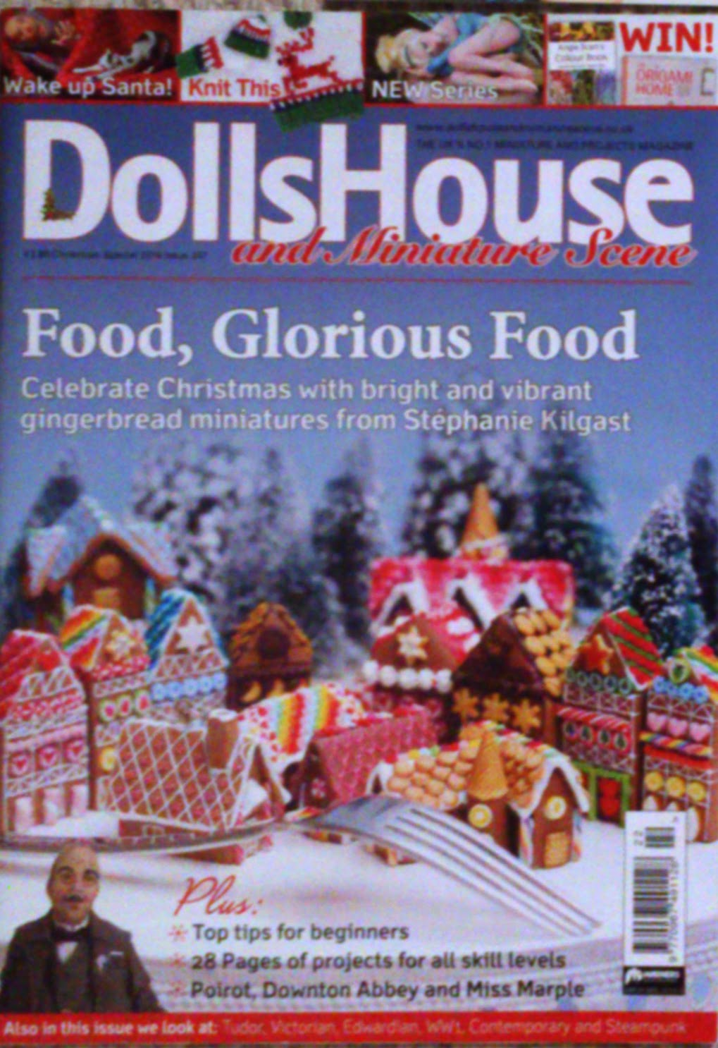 Cover of DollsHouse and Miniature Scene, Christmas Special 2014 Issue 247