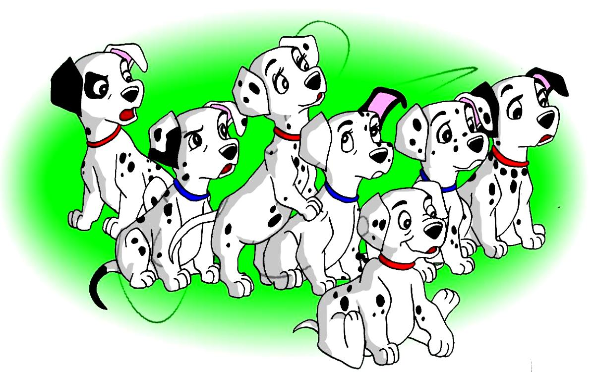 101 Dalmatians Cartoon Picture 1