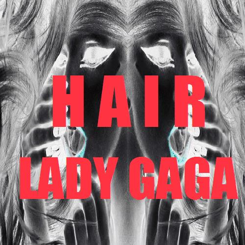 lady gaga hair single cover art. Lady GaGa - Hair (FanMade