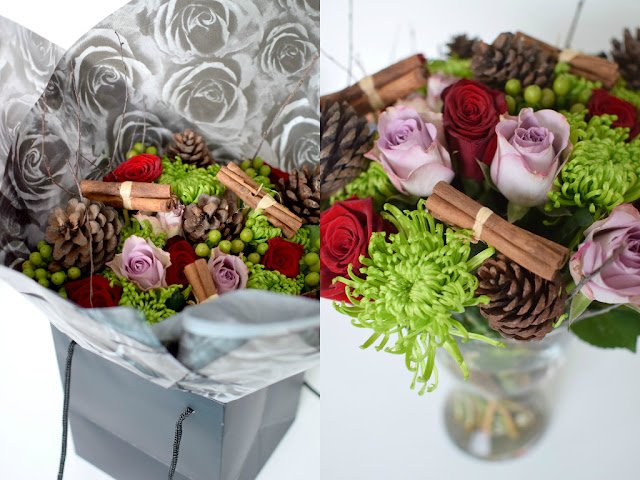 Prestige Flowers Christmas Bouquet Review