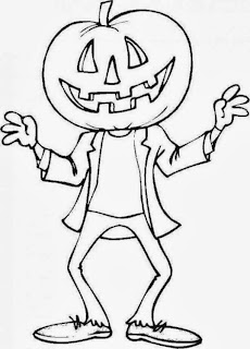 Halloween Pumpkins for Coloring, part 2