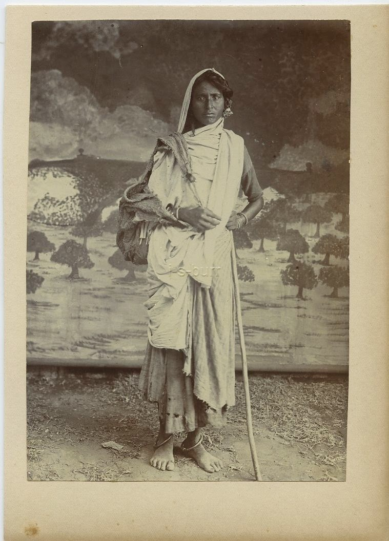 Indian Woman Traveller - c1900's
