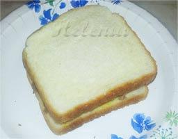 и накрываем вторым куском хлеба