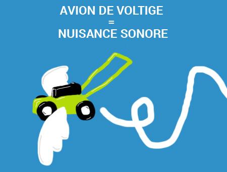 Cholet voltige aerienne nuisances sonores ao t 2013 - Porter plainte contre son voisin pour nuisance sonore ...