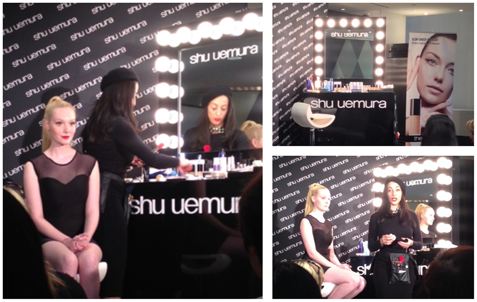 gina brooke fake lash application tips shu uemura