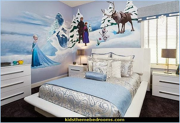 Frozen Themed Queen Elsa Bedroom