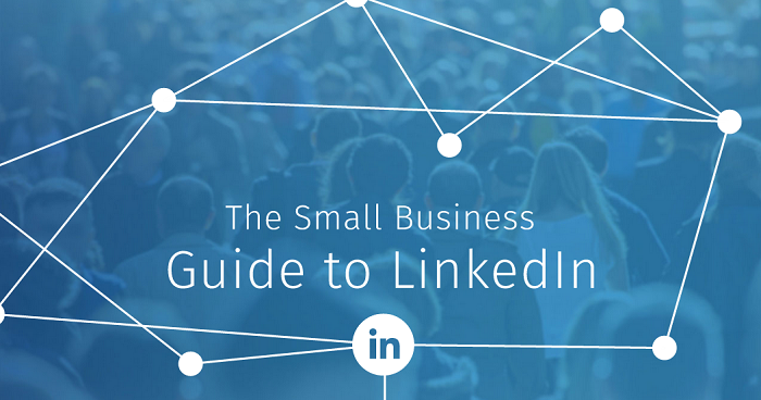 The small business guide to linkedin marketing infographic for Portent usage examples