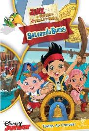 Capa - Download - Jake e os Piratas da Terra do Nunca Salvando Bucky