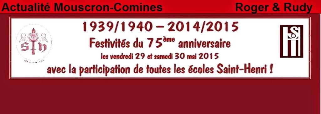 Actualités   Mouscron- Comines