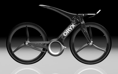 bicicleta electrica futuristica