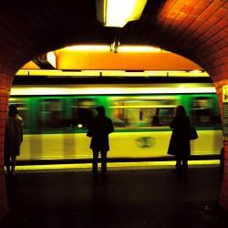 quai de métro à Paris
