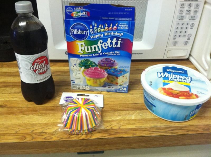 Fake Housewife Of Kop Diet Soda Cupcakes