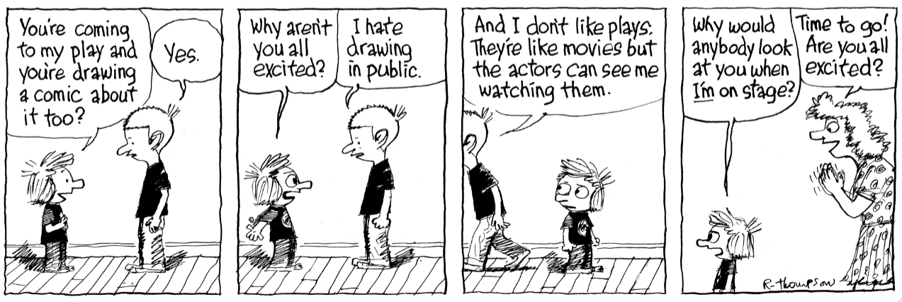 Happily Petey Became Available At Just The Right Moment We Were On An Abbreviated Vacation In Duck NC When Some Of These Strips Drawn Which Means I