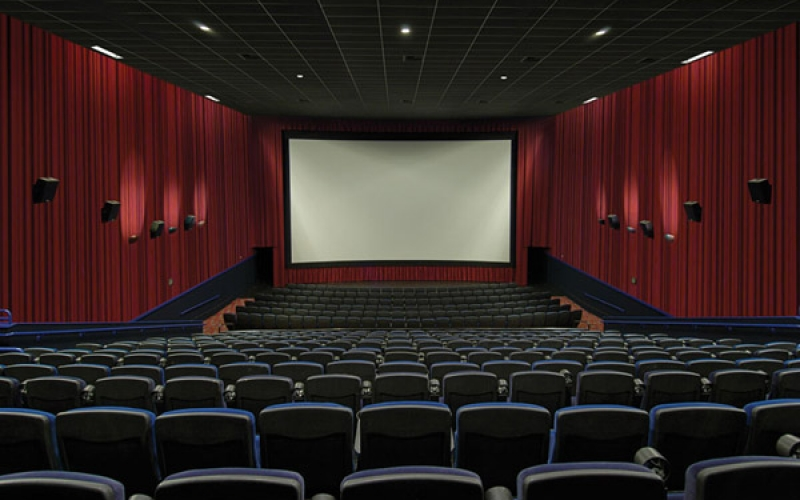 Life- The movie theater screen