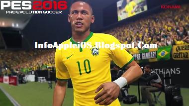 PES 2016 ISO Pemain Brazil