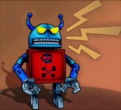 Evile robot