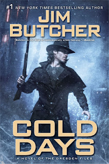 Jim Butcher: Cold Days, The Next Dresden Book, On Sale Nov 27th, 2012